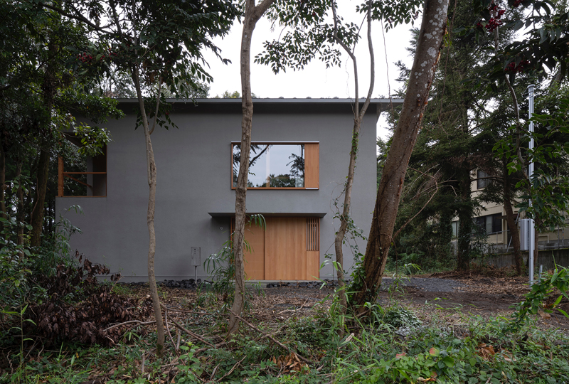 富士南麓の家-2
